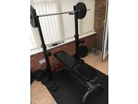 Bodymax Adjustable Squat and Pull Up Rack. £80 ono