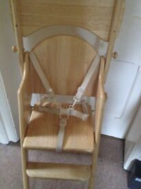 Baby High chair east coast