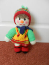 Hand Knitted Doll Toy