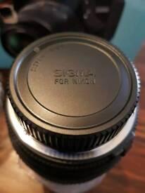 Sigma 70-300 f4-5.6 For Nikon