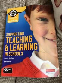Supporting Teaching & Learning in schools level 2 very textbook