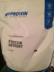 Myprotein protein powder/ dessert