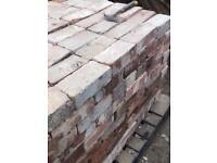 Reclaimed Cheshire wire cut bricks