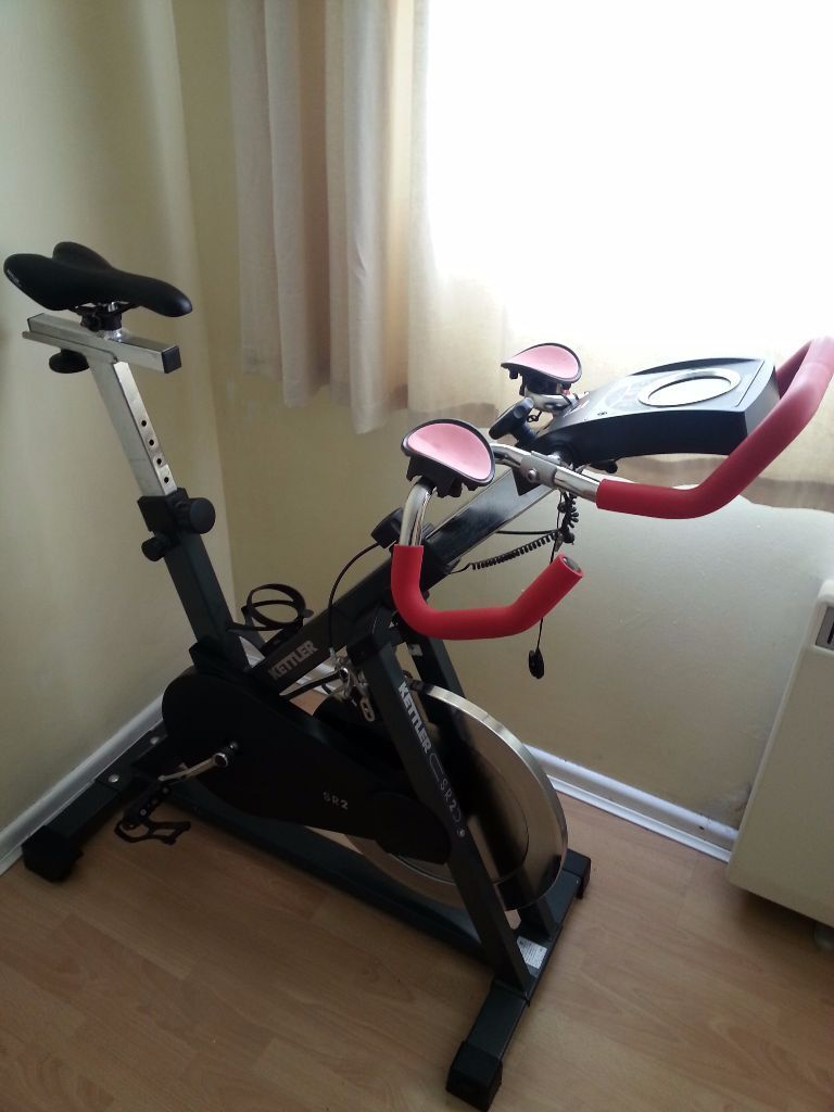 for sale kettler sr2 gt racer exercise bike indoor. Black Bedroom Furniture Sets. Home Design Ideas