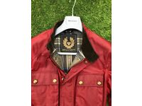 Belstaff roadmaster jacket (racing red) - size 50 large. Practically brand new, very seldom worn.