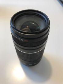 Canon 75-300mm F4 ultrasonic telephoto lens