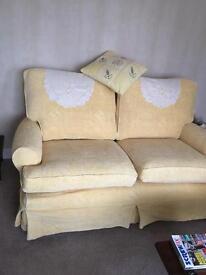 Yellow/lemon sofa