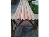 solid oak decorative rail