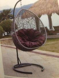 Egg cacoon swing chair