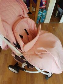 Mb100 pink stroller