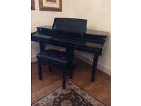 Baby Grand Piano. Viscount Concerto 3000. Perfect condition. £900.
