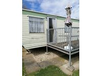 Static Caravan 35x12 foot 3 bedrooms 8 berth to rent in Skegness