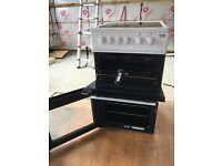 Freestanding electric fan assisted oven hob grill
