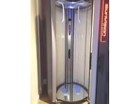Two excellent condition Alisun Supervision V200xxl commercial sunbeds, with body cooling systems