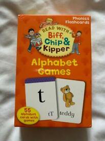 Biff, Chip and skipper Alphabet Games