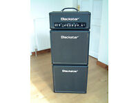 Guitar Amplifier, Mini-stack, Blackstar HT-5, 5W Valve, and Two Speakers