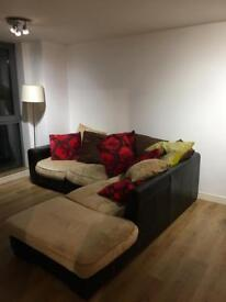 Large DfS corner sofa Appr 2 years old