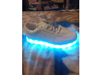 Brand new light up shoes size 4 with box