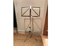 Music Stand - barely used MUS - A3CR