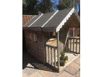 Wooden playhouse 7ft x5ft