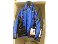 BRAND NEW MOTORCYCLE TEXTILE PADDED JACKET