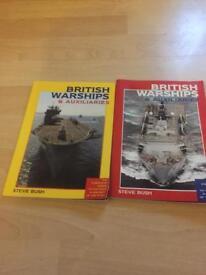 British warship books