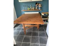 IKEA solid wood dining table for sale