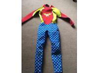 Wonder Woman Ladies or Girls Wet Suit Size 10