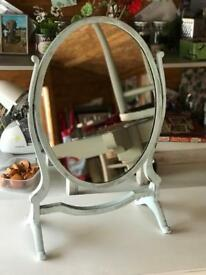 Vintage up-cycled dressing table mirror