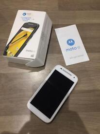 Motorola Moto E 2nd gen white Tesco