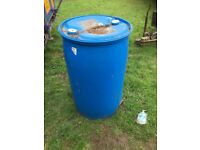 Plastic Water butts for sale 45gallons x20 ideal smallholding garden/allotment etc