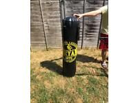 Punch bag and bracket boxing ect