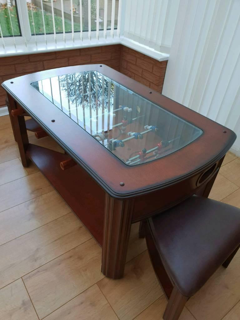 Football Foosball Table 3 In 1 Coffee Table In Walsall