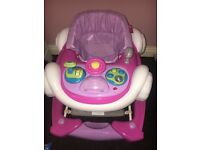 My child coupe baby walker, never used.