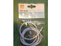 Net curtain wire