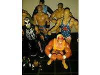 Wresting Figures