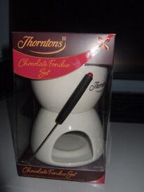 Thorntons Chocolate Fondue Set