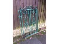 wrought iron garden gated £15 bargain