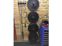 Rogue Hi-temp bumper plates 120kg set