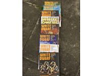 8 X white dwarf magazines