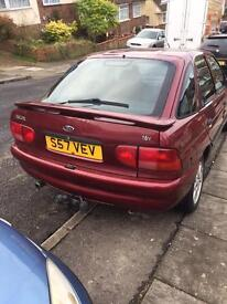 Escort 1.6 zetec breaking for spares all parts available ideal banger
