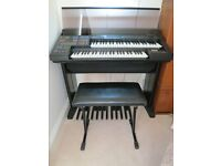 Smart Yamaha Electrone HS-6 Organ in full working order. Excellent bass and tone.