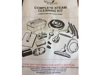 Complete Earlex steam cleaning kit