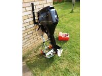 Tohatsu MFS8A3 8HP Four Stroke Outboard Long Shaft - Recently serviced