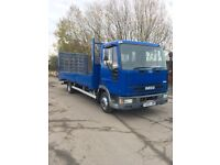 2001 ford iveco 23ft bevertail with very low miles 52219 guaranteed 1 owner from new