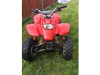 Quadzilla ram 165e 03 plate selling as spares or repairs road legal quad