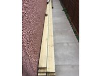 New decking boards