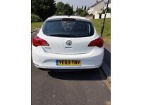 2013 Astra 1.4 Low mileage, service history,very good condition. Any inspection welcome.