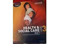 Health and Social care level 3 book 1