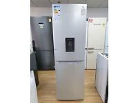 LOGIK LFFD55S18 A+ Frost Free 50/50 Fridge Freezer - Silver (6315)
